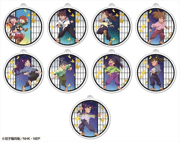 忍たま乱太郎 キラキラアクリルキーチェーンコレクション 第一弾 9個入りBOX[アトリエ・マギ]《在庫切れ》