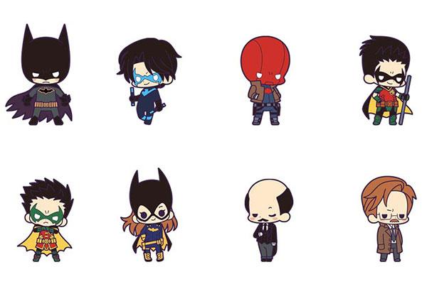 ラバーストラップコレクション バットマン ファミリー 8個入りBOX[コトブキヤ]《08月予約》