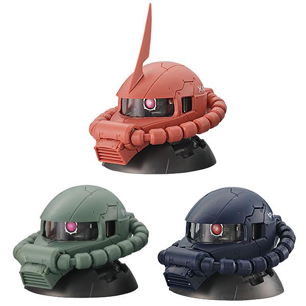 機動戦士ガンダムEXCEED MODEL ZAKU HEAD 9個入りBOX[バンダイ]《06月予約》