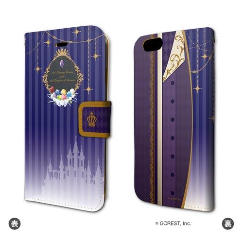 手帳型スマホケース(iPhone6/6s専用)「夢王国と眠れる100人の王子様」01/「宝石の国」ジーク イメージ[A3]《04月予約》