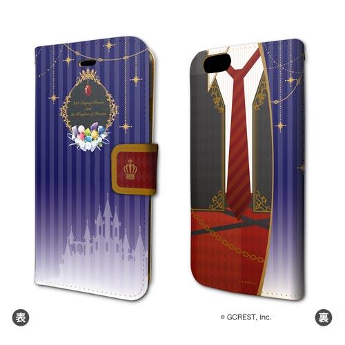 手帳型スマホケース(iPhone6/6s専用)「夢王国と眠れる100人の王子様」02/「宝石の国」ティーガ イメージ[A3]《04月予約》