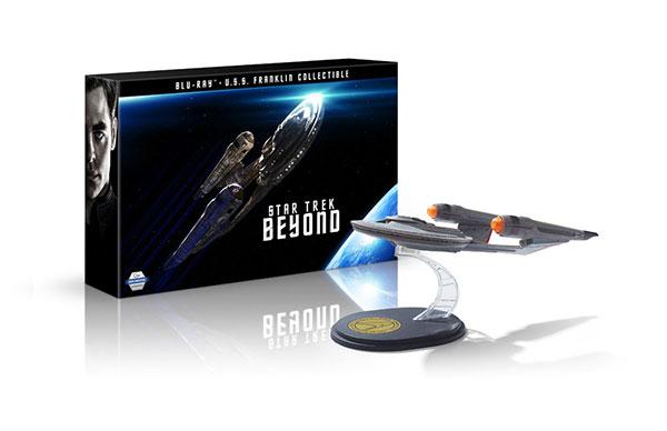 BD スター・トレック BEYOND Large shipフィギュア付き ブルーレイ+特典ブルーレイセット (Blu-ray Disc)[NBC]《取り寄せ※暫定》
