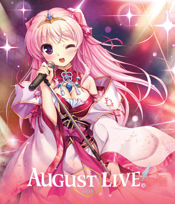BD AUGUST LIVE! 2016 Blu-ray & DLCard[Side Connection Music]《取り寄せ※暫定》