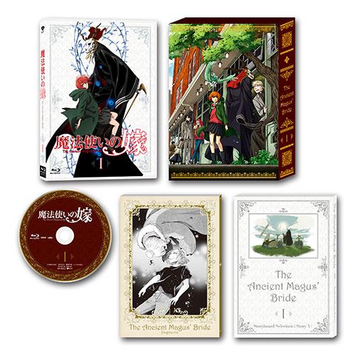BD 魔法使いの嫁 第1巻 完全数量限定生産Blu-ray[松竹]《在庫切れ》