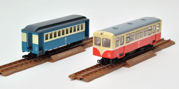 鉄道コレクション ナローゲージ80 猫屋線キハ11白帯塗装1・ホハ1形新塗装[トミーテック]《在庫切れ》