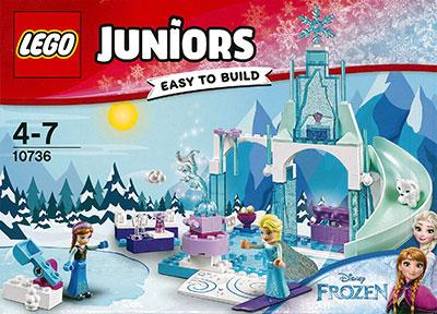 レゴ ジュニア アナとエルサの雪の公園[レゴジャパン]《在庫切れ》