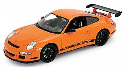 1/18 ポルシェ 911(997)GT3 RS(オレンジ)(再販)[WELLY]《在庫切れ》