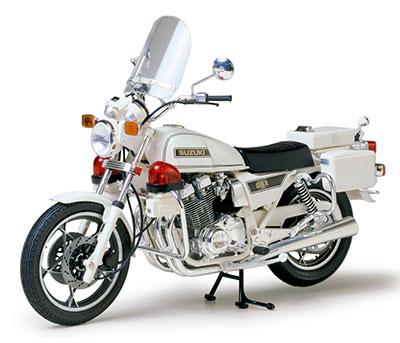 1/12 オートバイシリーズ No.20 スズキ GSX750 ポリスタイプ プラモデル[タミヤ]《02月予約》