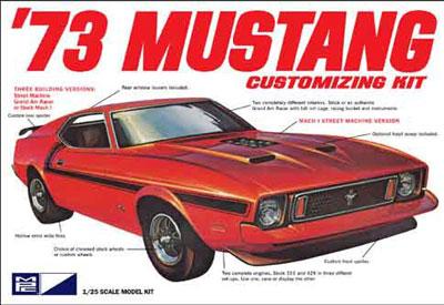1/25 1973 フォード マスタング プラモデル(再販)[MPC]《07月予約※暫定》