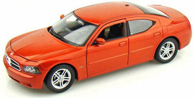 1/24 DODGE CHARGER デイトナ R/T 2006 (オレンジ) (仕様変更ver)[WELLY]《在庫切れ》