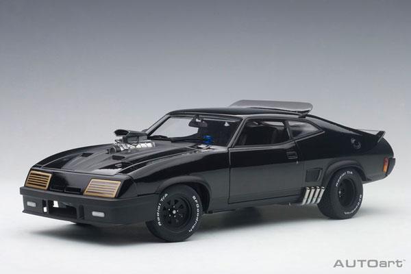 1/18 フォード XB ファルコン チューンド・バージョン 「ブラック・インターセプター」[オートアート]【送料無料】《発売済・在庫品》