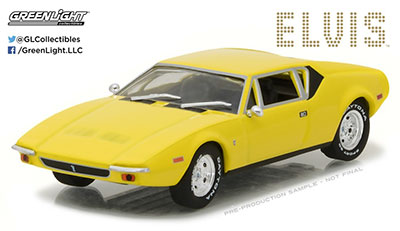 1/43 Hollywood - Elvis Presley (1935-77) - 1971 De Tomaso Pantera[グリーンライト]《09月仮予約》