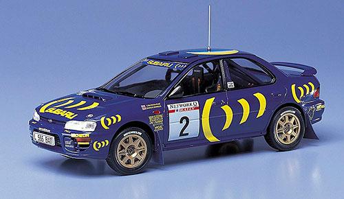 """1/24 カーモデルシリーズ スバル インプレッサ WRX """"1993年 RAC ラリー"""" プラモデル[ハセガワ]《在庫切れ》"""