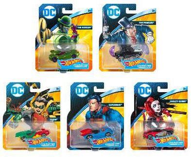 ホットウィール DC キャラクターカー 8個入りアソート[マテル]《在庫切れ》