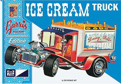 1/25 ジョージ・バリス アイスクリーム・トラック プラモデル[MPC]《取り寄せ※暫定》