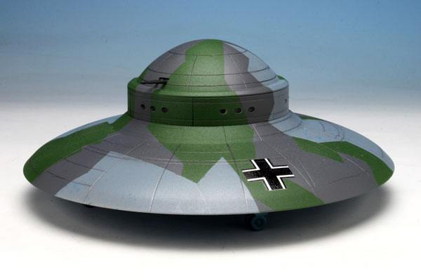 1/144 WW.II ドイツ軍 秘密兵器 ハウニブII フライングソーサー プラモデル[ペガサスホビー]《取り寄せ※暫定》
