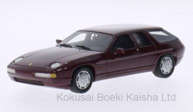 1/43 ポルシェ 928 H50 コンセプト 1987 メタリック-ダーク レッド[ネオ]《在庫切れ》