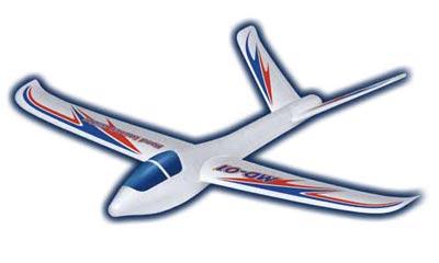 スチロール製フリーフライト手投げグライダー MD-01[スタジオミド]《取り寄せ※暫定》
