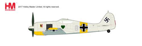 1/48 Fw190 A-4 フォッケウルフ ホワイト8[ホビーマスター]《在庫切れ》