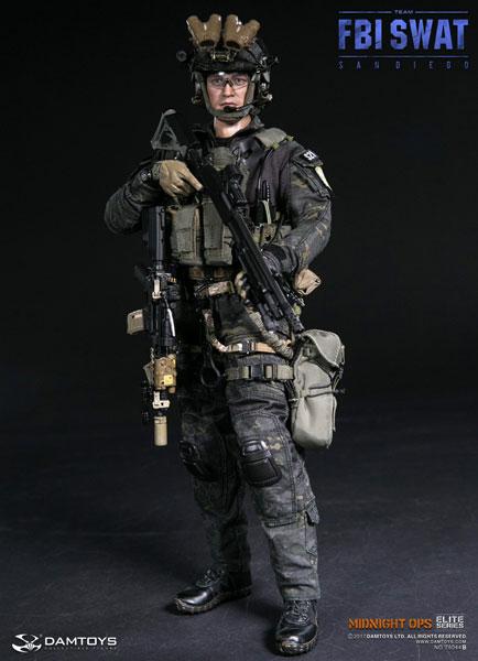 1/6 エリートシリーズ FBI SWATチーム エージェント サンディエゴ ミッドナイト OPS[DAMTOYS]【送料無料】《03月予約》