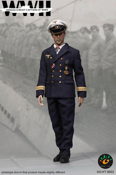 1/6 WWII ジャーマン Uボート キャプテン[Kings Toys]【送料無料】《在庫切れ》