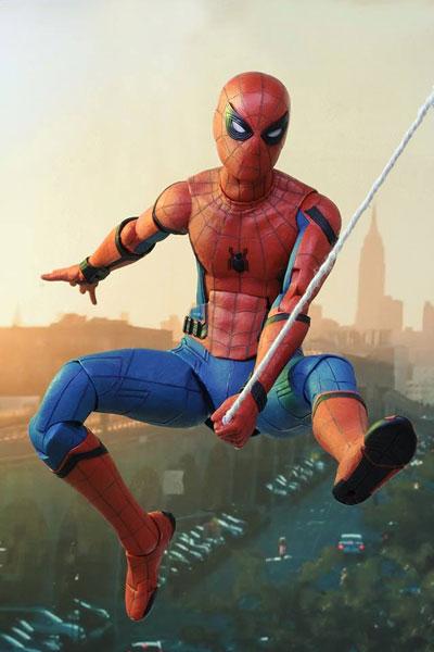 スパイダーマン ホームカミング/ スパイダーマン 1/4 アクションフィギュア[ネカ]《在庫切れ》