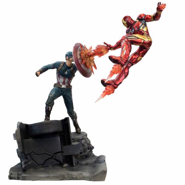 シビル・ウォー キャプテン・アメリカ/ キャプテン・アメリカ vs アイアンマン マーク46 モーション[Factory Entertainment]【送料無料】《07月仮予約》