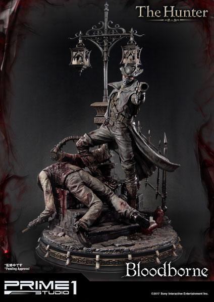 アルティメットプレミアムマスターライン/ Bloodborne ブラッドボーン: 狩人 ハンター 1/4 スタチュー[プライム1スタジオ]【送料無料】《05月予約》