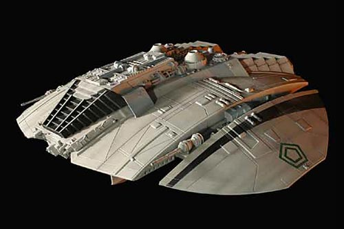 宇宙空母ギャラクティカ 1/32 サイロンレーダー (オリジナルTV版) 塗装済み完成品