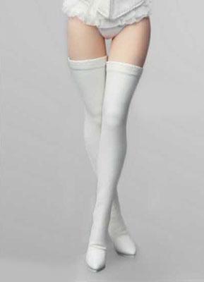 1/6 フィメール シューズ コレクション ロングブーツ ホワイト[FLIRTY GIRL]《09月仮予約》