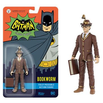 『バットマン 1966年TVシリーズ』 3.75インチ アクションフィギュア ブックワーム[ファンコ]《在庫切れ》