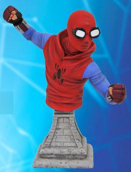 『スパイダーマン:ホームカミング』 ミニバスト スパイダーマン(ホームメイド・スーツ版)[ダイアモンドセレクト]《発売済・在庫品》
