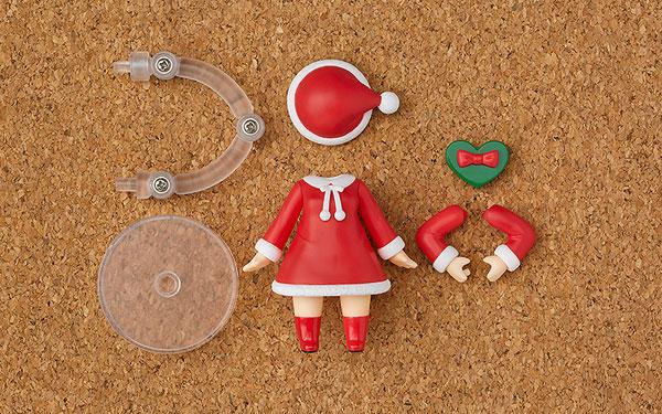 ねんどろいどもあ きせかえクリスマス 女の子Ver.[グッドスマイルカンパニー]《在庫切れ》