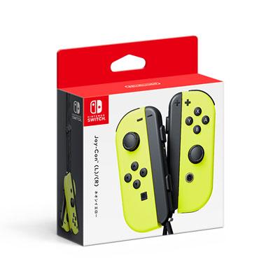 Nintendo Switch Joy-Con (L)/(R) ネオンイエロー[任天堂]《06月予約》