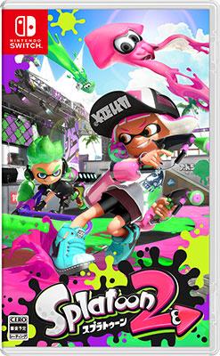 Nintendo Switch Splatoon 2 (スプラトゥーン2)[任天堂]【送料無料】《07月予約》