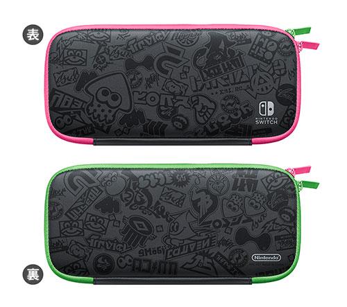 Nintendo Switch キャリングケース スプラトゥーン2エディション(画面保護シート付き)[任天堂]【送料無料】《発売済・在庫品》