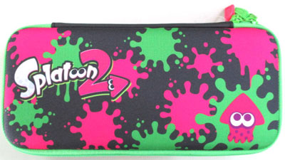 Splatoon2 ハードポーチ for Nintendo Switch インク×イカ(再販)[ホリ]《12月予約》