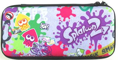 Splatoon2 ハードポーチ for Nintendo Switch グラフィティ(再販)[ホリ]《12月予約》