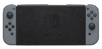 Nintendo Switch専用 スタンド付きカバー ブラック[マックスゲームズ]《発売済・在庫品》