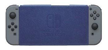 Nintendo Switch専用 スタンド付きカバー ブルー[マックスゲームズ]《取り寄せ※暫定》