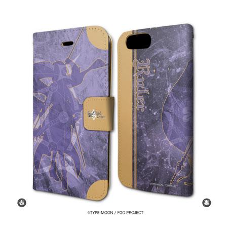 手帳型スマホケース(iPhone7専用)「Fate/Grand Order」03/ルーラー/ジャンヌ・ダルク