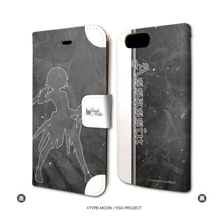 手帳型スマホケース(iPhone7専用)「Fate/Grand Order」28/アサシン/ジャック・ザ・リッパー
