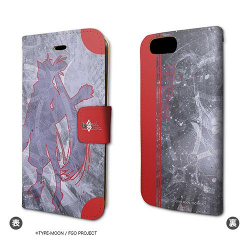 手帳型スマホケース(iPhone7専用)「Fate/Grand Order」08/ライダー/牛若丸