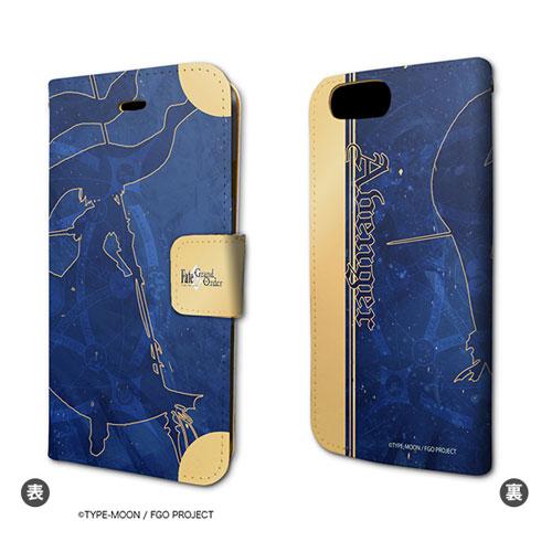 手帳型スマホケース(iPhone7専用)「Fate/Grand Order」20/アヴェンジャー/ジャンヌ・ダルク[オルタ]
