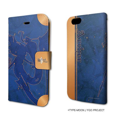手帳型スマホケース(iPhone6/6s専用)「Fate/Grand Order」33/アーチャー/イシュタル