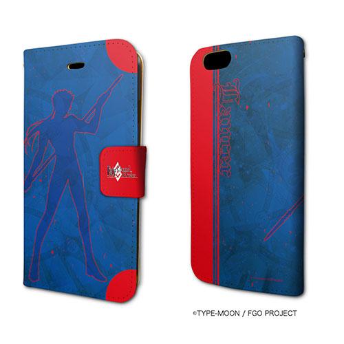 手帳型スマホケース(iPhone6/6s専用)「Fate/Grand Order」34/ランサー/クー・フーリン