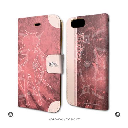 手帳型スマホケース(iPhone7専用) 「Fate/Grand Order」 06/ライダー/マリー・アントワネット