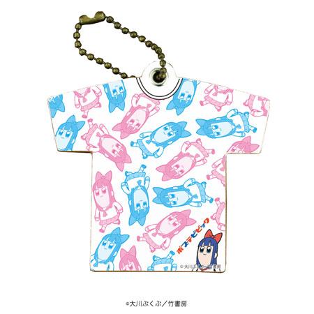 キャラレザーチャーム「ポプテピピック」02/ピピ美(Tシャツ)[A3]《在庫切れ》