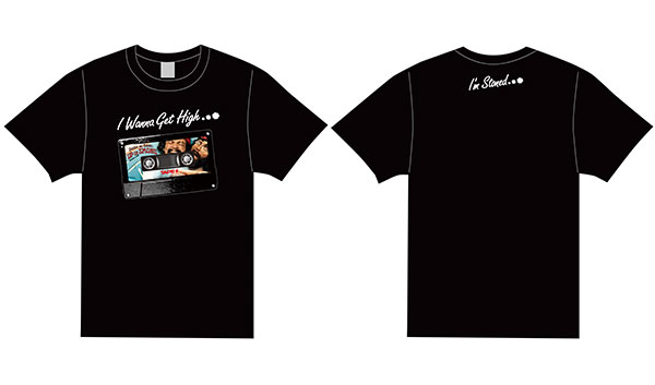 CHEECH&CHONG × TAPES (UP IN SMOKE ver.) Tシャツ Lサイズ[スパイダーウェブ]《06月仮予約》