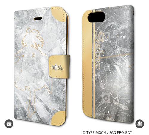 手帳型スマホケース(iPhone7専用)「Fate/Grand Order」11/セイバー/アルトリア・ペンドラゴン[リリィ]